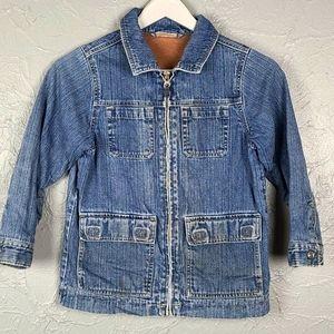 HANNA ANDERSSON Girls Denim Jacket